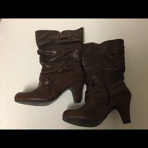 Shoes - Rana brown mid-calf boot-9